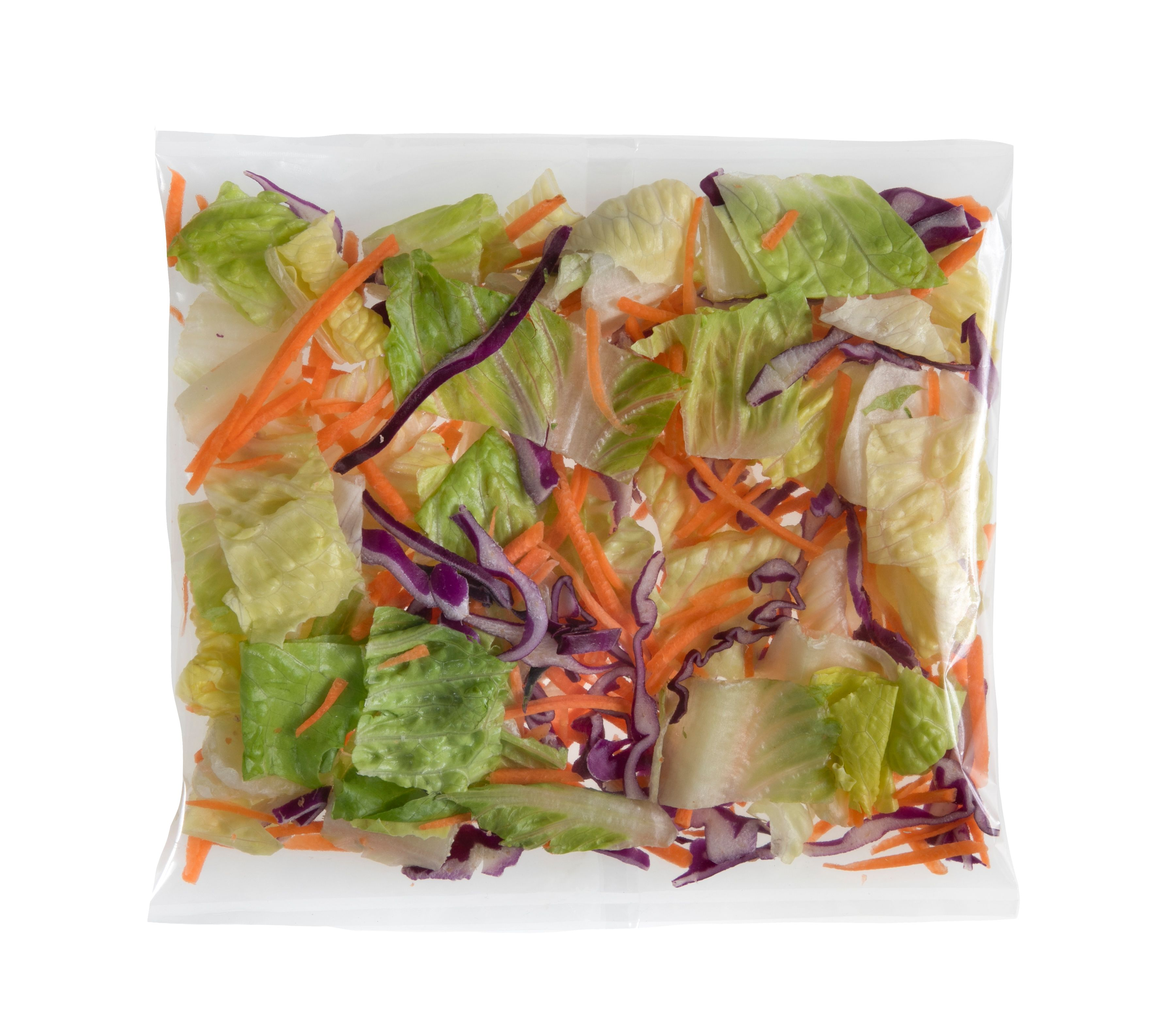 Lettuce, Romaine Blend (50 ct/cs, 2.6 oz bags, Monterey County, 8.126 lbs)