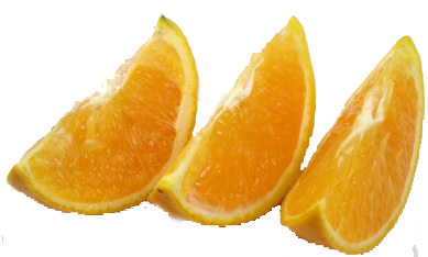 Orange, Slices (1/2 cup, 50 x 4.7 oz Bags) San Joaquin