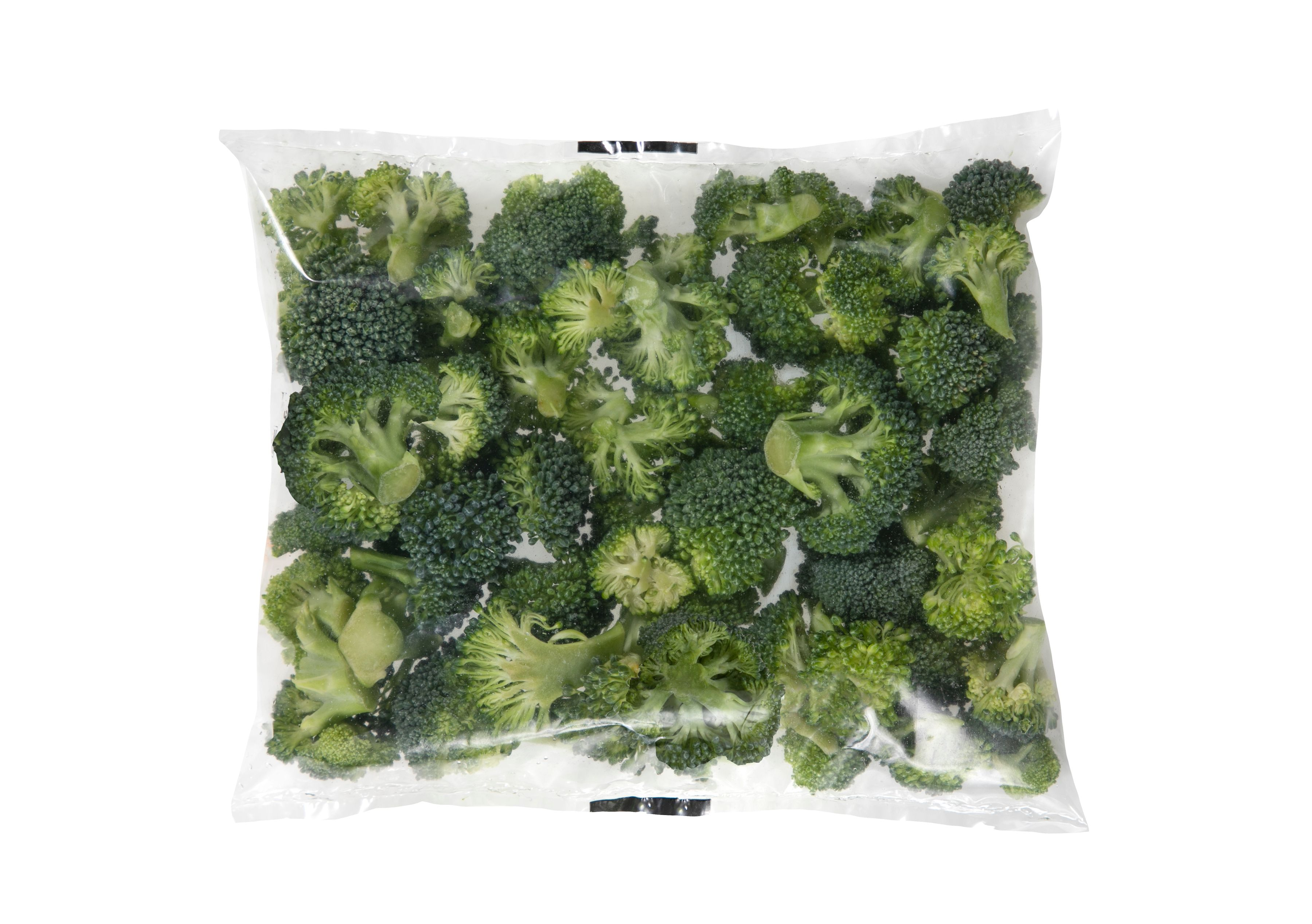 Broccoli Florets (50 ct/cs, 2 oz bags, 6.25 lbs, Monterey County)