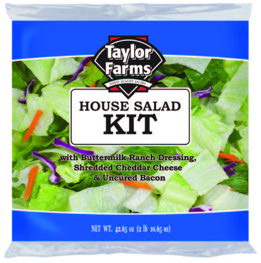 House Salad Kit [4 ct/cs, 42.65 oz, Yuma, AZ 11.0 lb(s)]