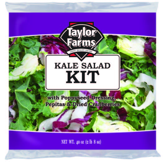 Kale Salad Kit [4 ct/cs, 40 oz, Yuma, AZ 10.0 lb(s)]