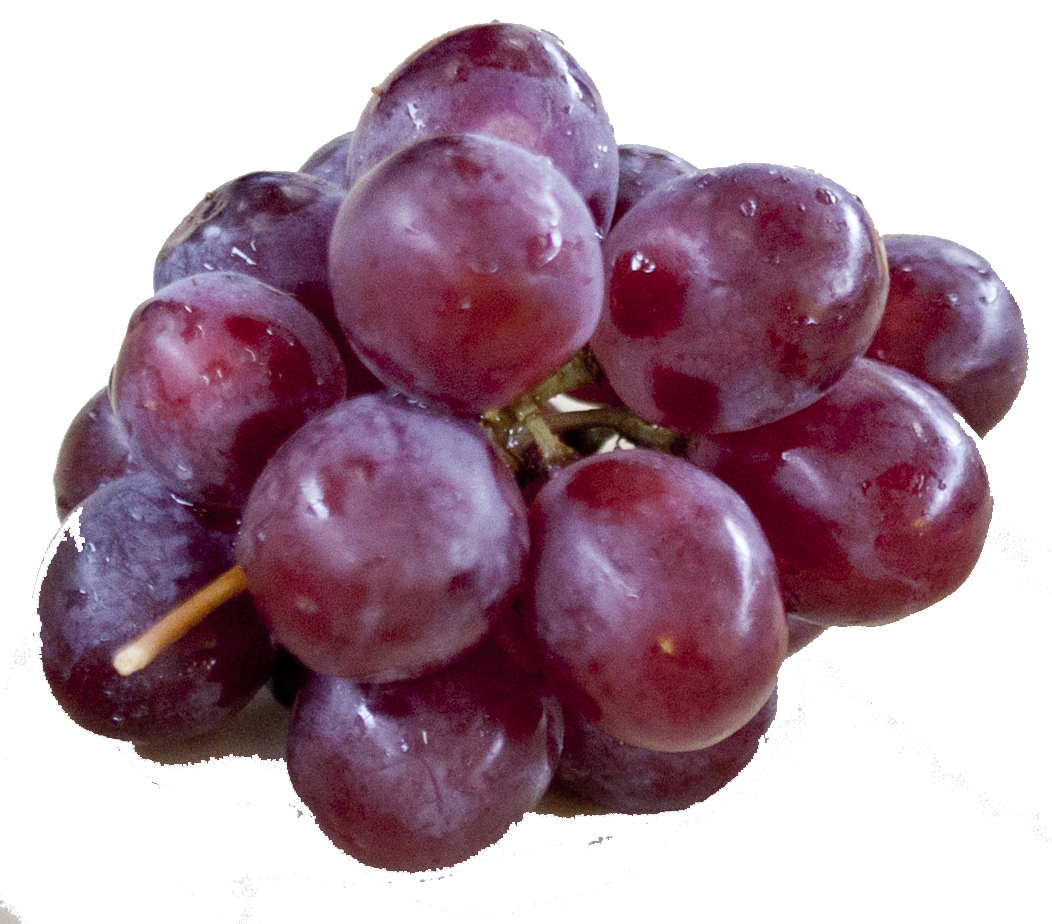 Grapes, Lunch Bunch, Red/Purple (2-4oz Clusters, 150 ct/cs)