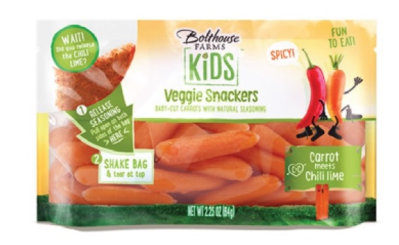 Carrots, Baby Chili Lime Flavored (2.5oz, 75 Ct/Cs) Kern