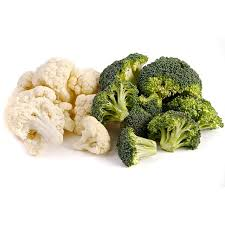 Broccoli & Cauliflower Florets (50 x 2 oz bags)
