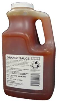 Nippon Shokken Orange Sauce (6 x 5.2LB bottles/case)